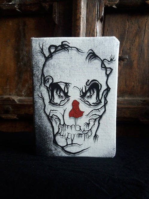 A5 2021 Diary - Red Riding Hood Skull