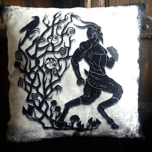Pan Cushion - Bayeux Velvet
