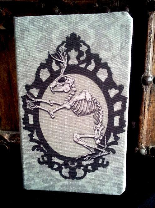 A5 notebook - Jackalope Skeleton