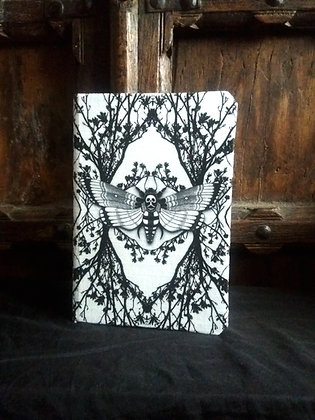 A5 Notebook - Ghost Moth - Choose Your Colour - PA