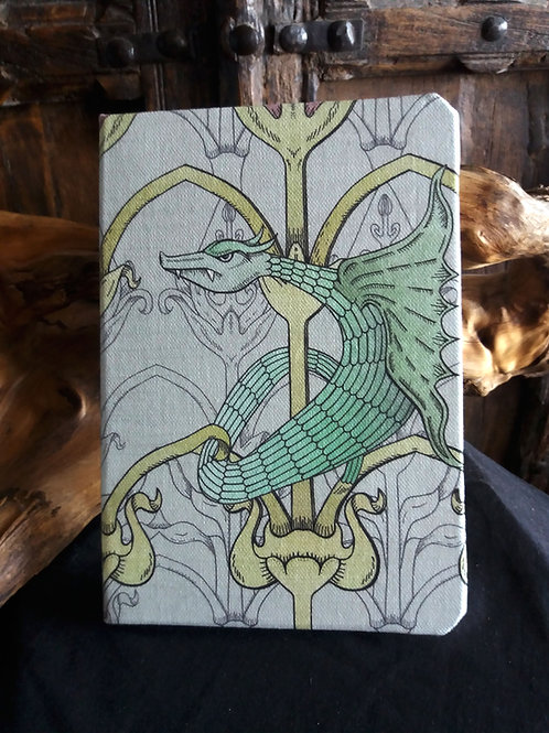 A5 notebook - Green Dragon