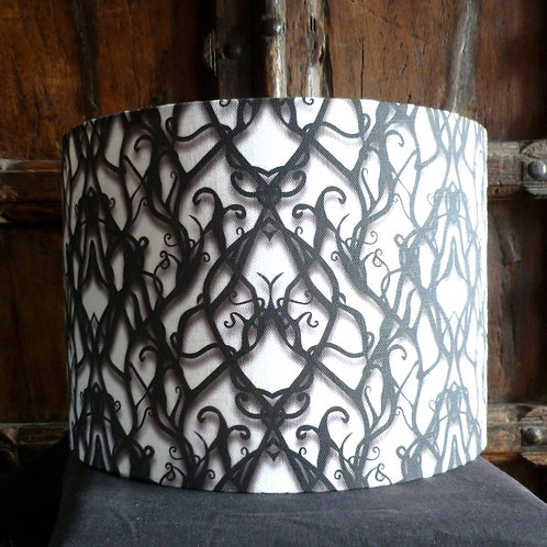 "25cm (10"") Lamp shade - Tied in Knots"