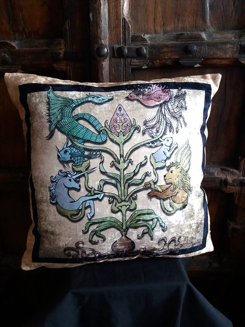 Mythological Totem Cushion
