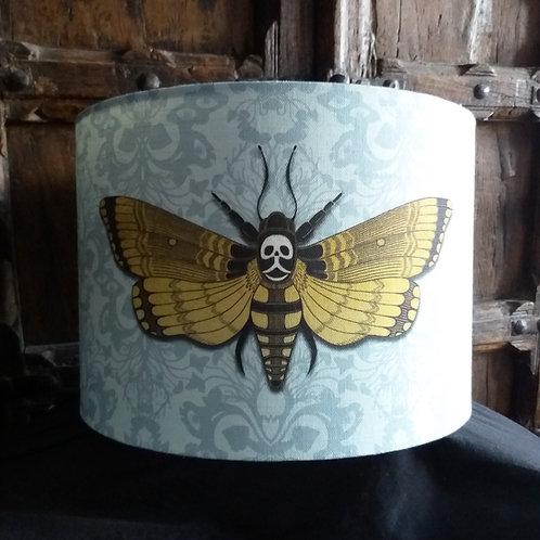 """40cm (16"""") Lightshade - Deaths head Hawkmoth BLUE"""