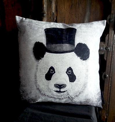 Dandy Panda Cushion - Bayeux Velvet PA