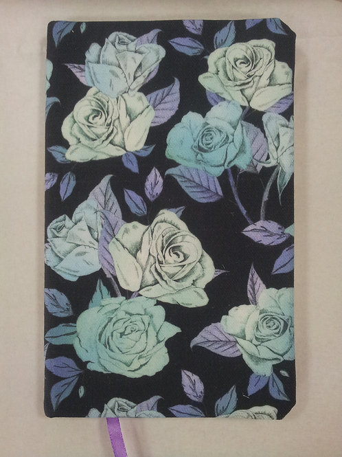 A5 notebook - Blue Roses
