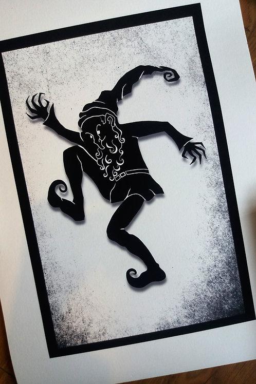 A3 or A4 Art Print - Rumplestiltskin