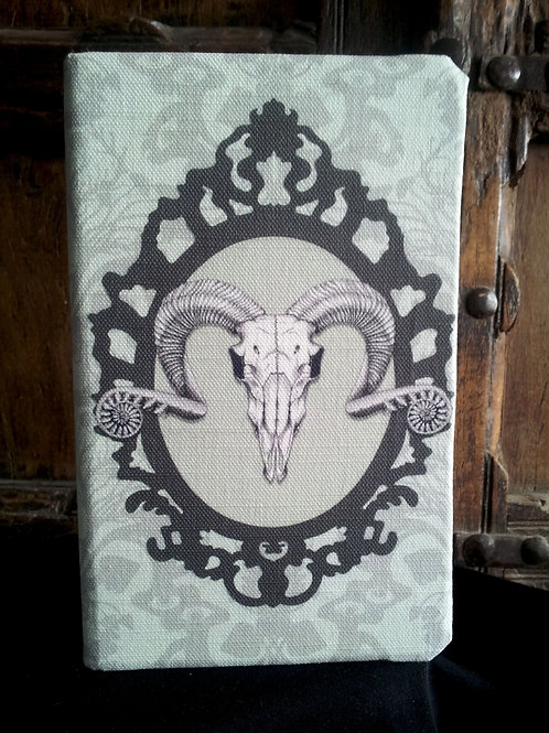 A5 notebook - Ram's Skull, Frame