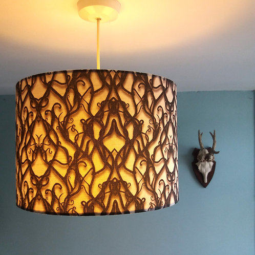 "40cm (16"") Lightshade/Lampshade - Tied in Knots"