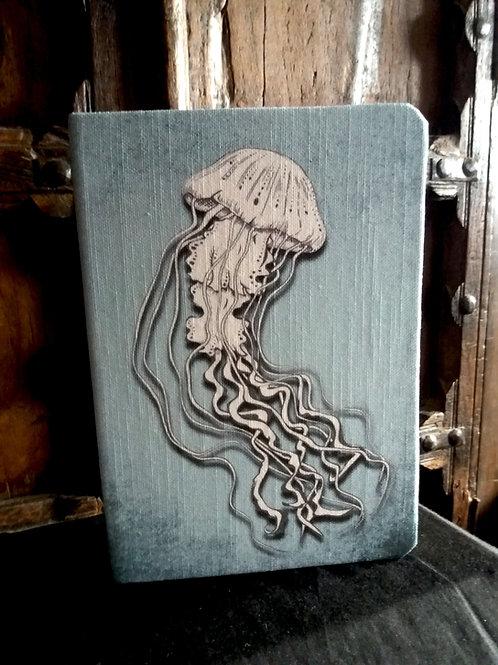 A5 notebook - Jellyfish