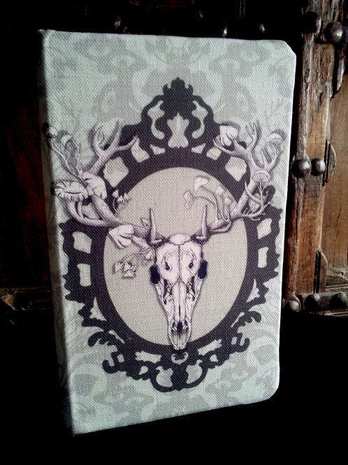 A5 notebook - Deer Skull, Frame