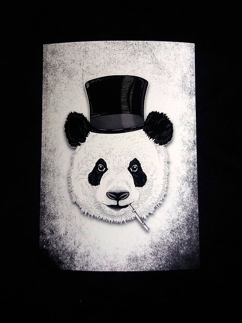 A3, A4 or A5 Art Print - Dandy panda