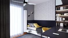 Teenage Bedroom in Nea Kifissia