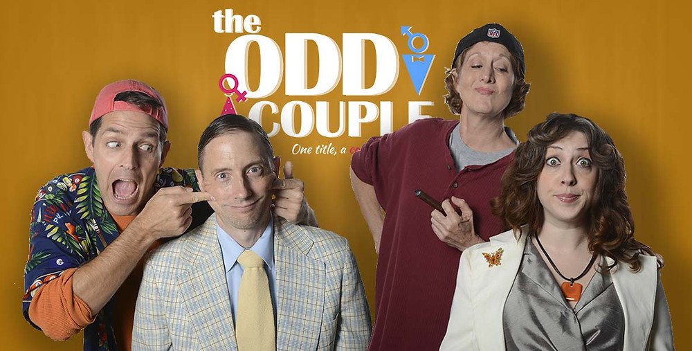 The Odd Couple at Stageworks Theatre Houston