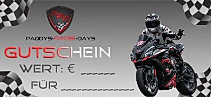 Gutschein Paddys-Races-Days