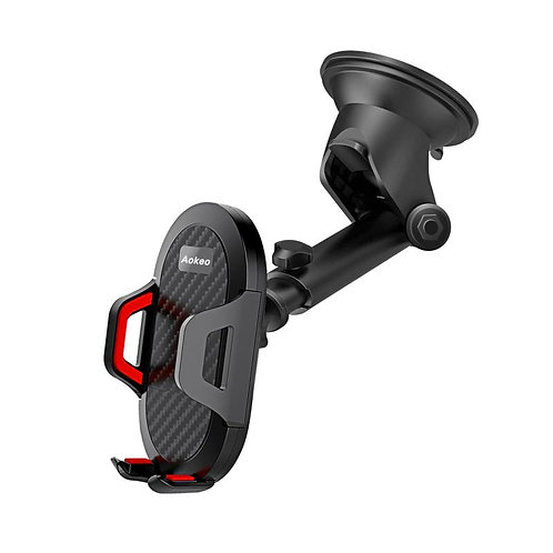 Aokeo Car Phone Mount, Washable Strong Sticky Gel Pad with One-Touch Design