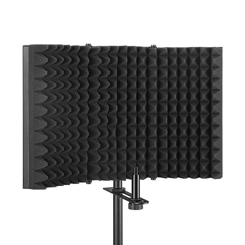 copy of Aokeo Premium Microphone Isolation Shield, Foldable Adjustable Studio Re