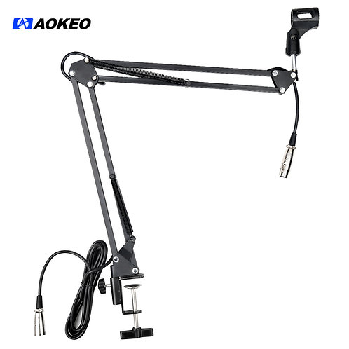 Aokeo AK-35 Microphone Suspension Boom Scissor Arm With Cable