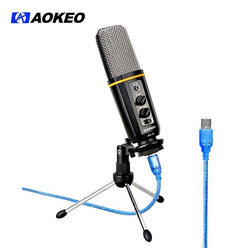 Aokeo AK-6 Desktop USB Condenser Microphone