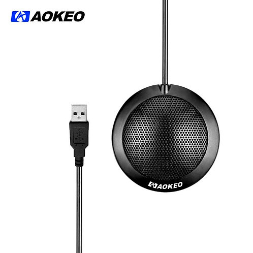 Aokeo's AK-1 Omni-Directional Stereo USB Condenser Microphone, Plug And Play