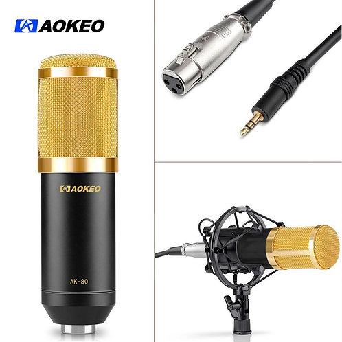 Aokeo AK-80 Professional Studio Broadcasting & Computer Recording Microphone