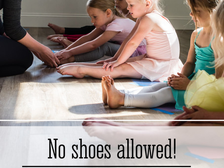 No Shoes Allowed! Why we dance Barefoot in The Dancing Room