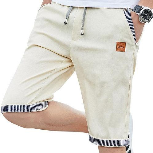 2020 new summer men shorts cotton beach shorts elastic waist casual shorts drop