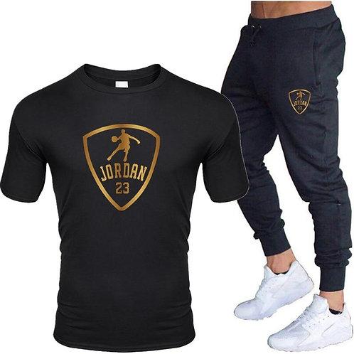2020 Men's Sets T Shirts+pants Two Pieces Sets Casual Tracksuit Men/Women Jordan