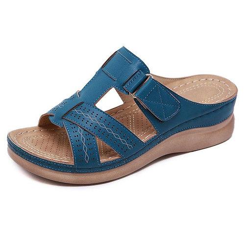 2020 Summer Women Wedge Sandals Premium Orthopedic Open Toe Sandals Vintage Anti