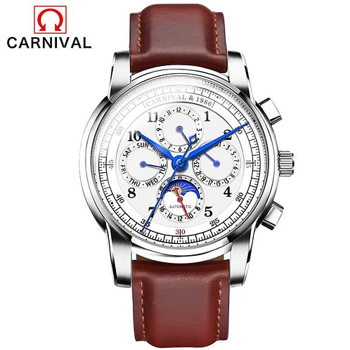 Mechanical Watches For Men relogio masculino Carnival Automatic Watch Men Fashio