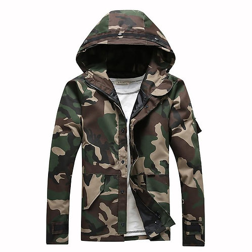 2020 spring men  military jacket male outerwear army coat overcoat 4XL 5XL ACL11