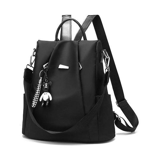 Backpack Women's 2019 New Style Backpack Customizable Oxford Cloth Waterproof Ru