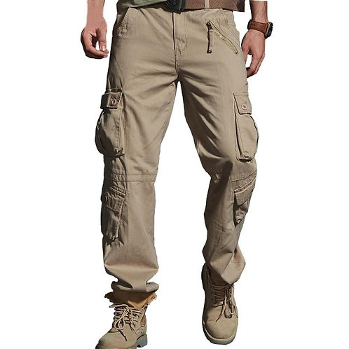 2020 Spring Hot Tactical Mens Cargo Pants Cotton Casual Multi-Pocket Military Me