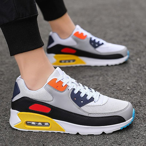2020-Couples Air Cushion Shoes Men and Women Shoe Korean-style Trend Casual Brea