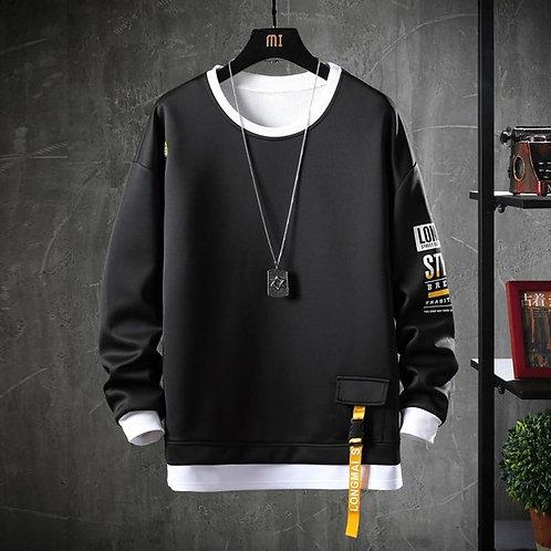 2020 Solid Color Sweatshirt Men Hoodies Spring Autumn Hoody Casual Streetwear Cl