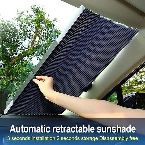 Car Retractable Windshield Anti-UV Sunshade Foldable Auto Car Front Rear Window