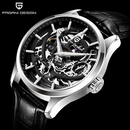 2020 PAGANI DESIGN Brand Luxury Hollow Automatic Mechanical Watch Men Classic Sk