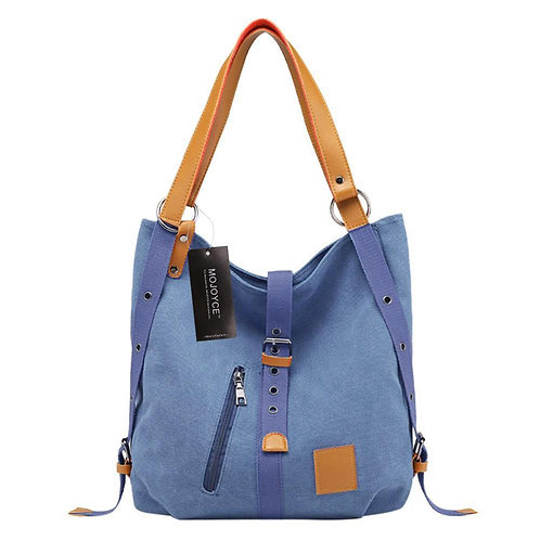 Canvas Women Shoulder Bags High Quality Multifunction Women Back Pack for Studen