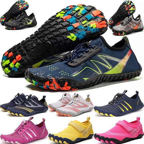 2020 new multifunctional outdoor shoes, five-finger shoes, swimming shoes, coupl