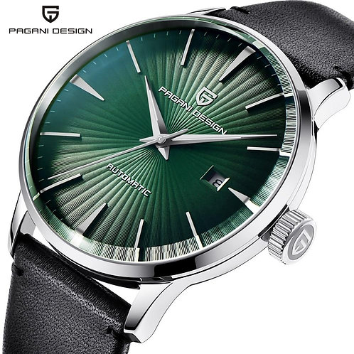 2020 PAGANI DESIGN Men's Classic Mechanical Watches Waterproof Leather Brand Lux