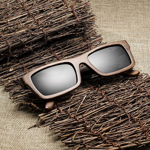 High Quantity Classic Bamboo Wood Sunglasses Polarized UV400 Eyewear