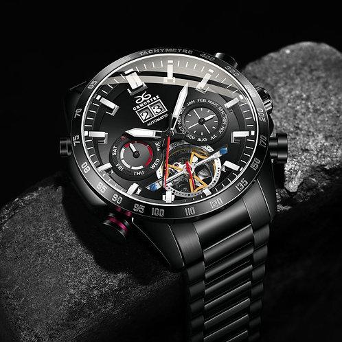 Automatic Watches for Men Mechanical Sport Watch Men Wirstwatch Tourbillon Stain