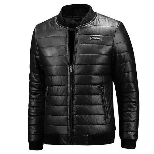 2020 New Warm Autumn Winter Leather Jacket Men Plus Size M~7XL 8XL Casual Mens M