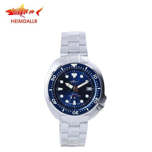HEIMDALLR Mens Mechanical Watch Blue Sapphire Ceramic NH35A Automatic Watches 20