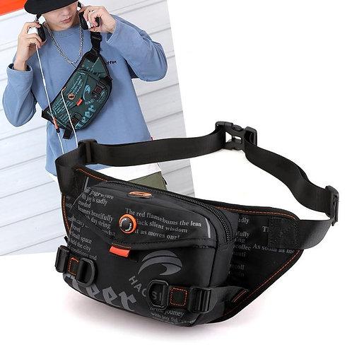 Waterproof Waist Bag For Men Fanny Pack Fashion Outdoor Sports Crossbody Bags Ch