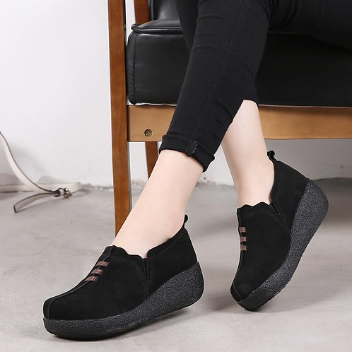 Women Creepers Shoes Sneakers Women Plus Size Ladies Platform Shoes Woman Flats