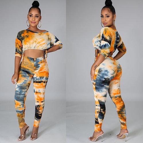 Women Sexy 2 Pieces Sets Crop Tops O Neck Half sleeve Bodycon Pants Suits Casual