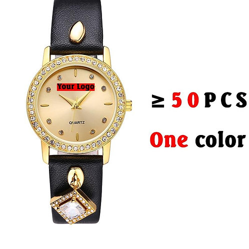 Type 2441 Custom Watch Over 50 Pcs Min Order One Color( The Bigger Amount, The C