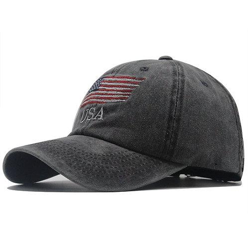 2021 New Washed Cotton Baseball Cap Snapback Hat for Men Women
