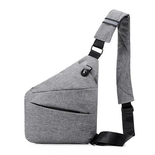 Brand Men Travel Business Fino Bag Burglarproof Shoulder Bag Holster Anti Theft